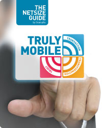 Detail of front cover of The Netsize Guide by Gemalto - Truly Mobile